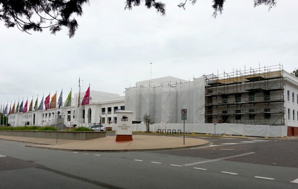 Museum of Australian Democracy – External Façade Upgrade