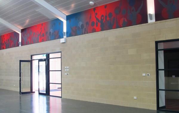 Telopea Park School, Classrooms and Multi-Purpose Hall